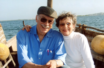 Photo of Patricia Lee and Ron Gauch
